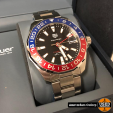 Tag Heuer TAG Heuer Aquaracer Calibre 7 GMT Automatic | NIEUW in stickers