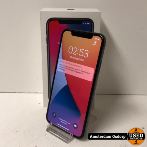 Apple iPhone X 64GB Space Gray  Nette Staat