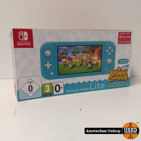 Nintendo Switch Lite 32GB + Animal Crossing | Nieuw in doos