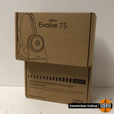 Jabra Evolve 75 Stereo UC Charging stand |  Nieuw in Doos