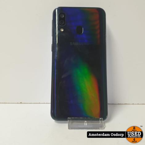 Samsung A40 64GB Zwart | Nette Staat