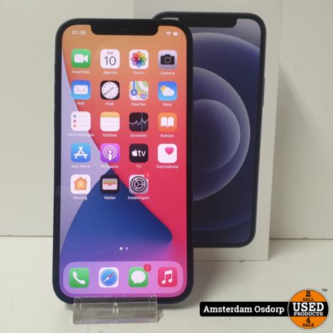 Apple iPhone 12 Zwart 128GB   Gebruikte staat