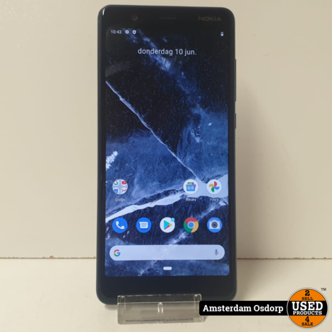 Nokia 5.1 16GB Blue   nette staat
