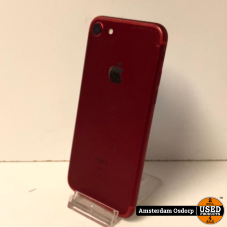 Apple iPhone 7 128GB Red edition | nette staat