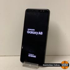 samsung Samsung Galaxy A8 (2018) | 32GB | nette staat | zwart