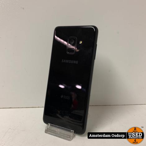 Samsung Galaxy A8 (2018)   32GB   nette staat   zwart