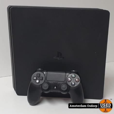 Sony Playstaton 4 slim 500GB | Nette staat | Full wiped