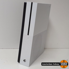Xbox One Xbox One S 500Gb Wit | 1 controller(zwart) | nette staat