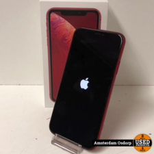 Apple Apple iPhone XR 128GB Red Edition | Nette staat