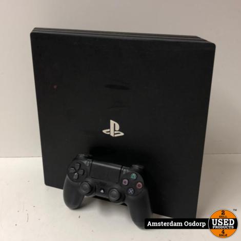 Sony Playstation 4 Pro 1TB Zwart + controller   gebruikt