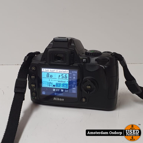 Nikon D40 +18-55 MM Kitlens
