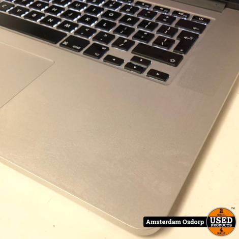 Apple Macbook Pro 15 Mid 2015 | Core i7 | 16GB | 512SSD | nette staat