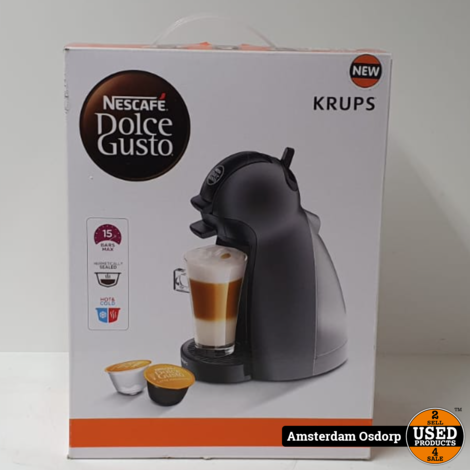 Dolce Gusto Picollo Koffiemachine   NIEUW