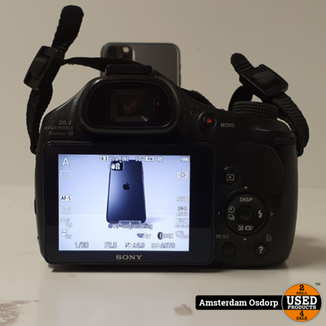 Sony DSC-HX400 20.4MP Cybershot camera | gebruikt