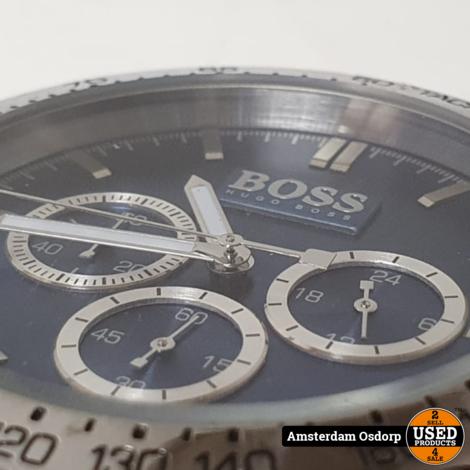 Hugo boss HB-213-1-20-2600 heren horloge   zilver