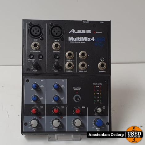 Alesis Multimix 4 USB studio mixer | nette staat