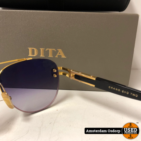 DITA Grand Evo Two dts139-a-01 zonnebril   zeer netjes + bon