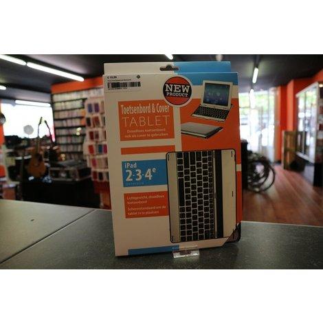 iPad 2/3/4 Aluminium Bluetooth Keyboard Cover
