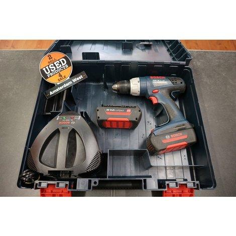 Bosch GSR 36 V-Li Accuschroefboormachine 2x 1.3Ah accu's | Nette Staat