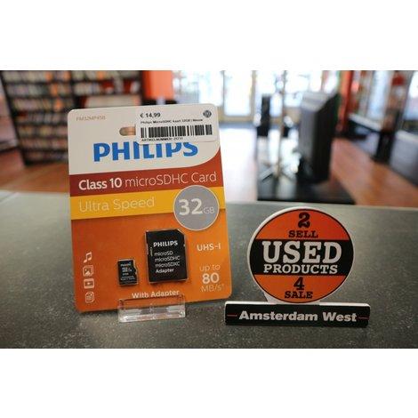 Philips MicroSDHC kaart 32GB | Nieuw