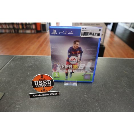 Playstation 4 Game: Fifa 16