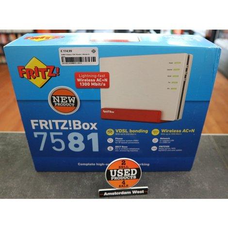 AVM Fritzbox 7581 Router | Nieuw in doos