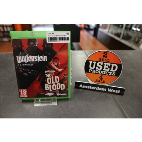 Xbox One Game: Wolfenstein The New Order Double Pack