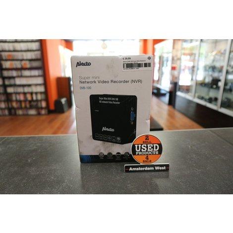 Alecto DVB-100 Super Mini Network Video Recorder   Nieuw