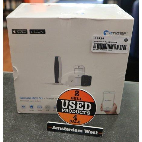 Etiger Secual Box V2 Wifi/GSM Alarmsysteem