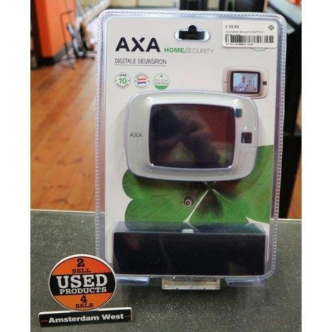 Axa Digitale deurspion Zwart/Grijs | Nieuw in seal