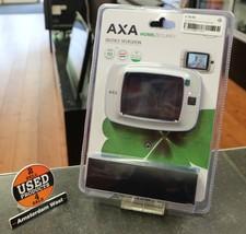 Axa Digitale deurspion Zwart/Grijs