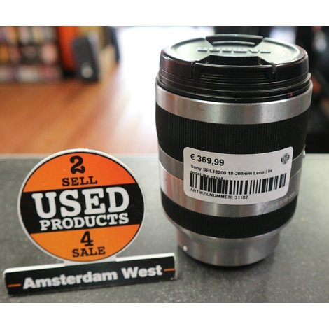 Sony SEL18200 18-200mm Lens | In redelijke staat