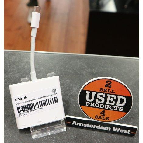 USB‑C-naar-digitale-AV-multipoort-adapter | Nette staat met Garantie