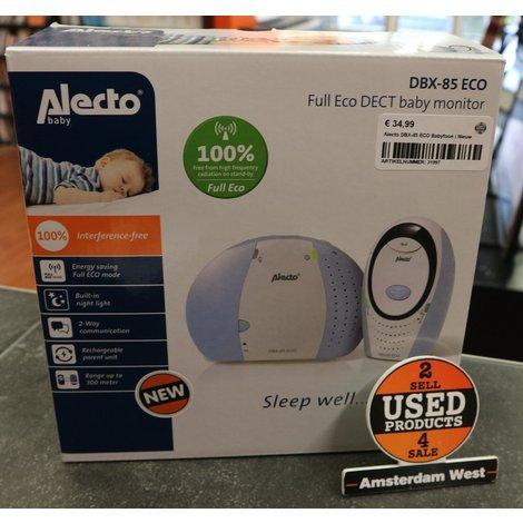 Alecto DBX-85 ECO Babyfoon   Nieuw