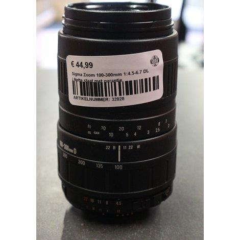 Sigma Zoom 100-300mm 1:4.5-6.7 DL | Nette staat met garantie