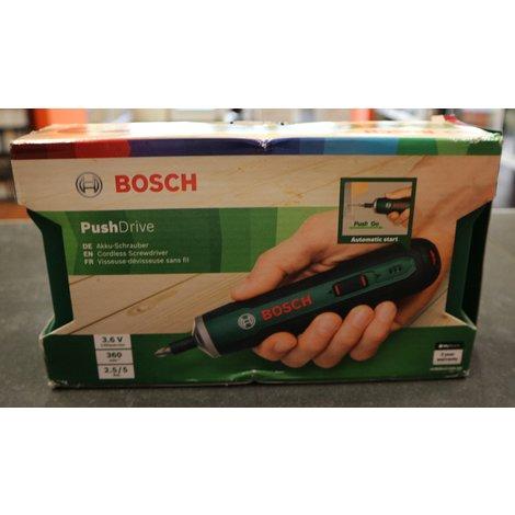 Bosch Pushdrive Accuschroevendraaier | Nieuw