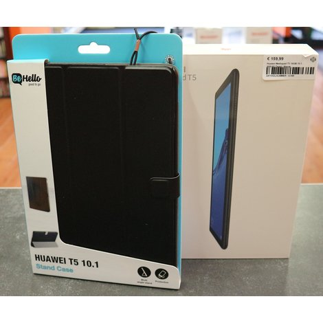 Huawei Mediapad T5 16GB 10.1 Wifi/4G Zwart | Nieuw