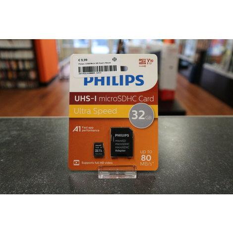 Philips 32GB Micro SD Kaart | Nieuw
