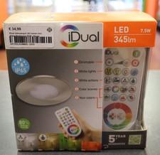 iDual inbouwspot 345 lumen incl. afstandbediening RGB | Nieuw