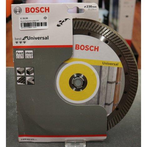 Bosch Diamantdoorslijpschijf Diameter 230 mm | Nieuw