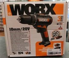 Worx Worx WX170.9 Accuboormachine Baretool | Nieuw