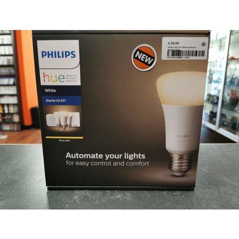 Philips Hue E27 White Starterkit | Nieuw in Doos