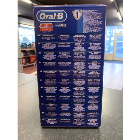 Oral-B Junior 6+ Elektrische tandenborstel Groen   Nieuw