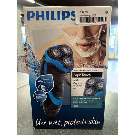 Philips Aquatouch AT750 Scheerapparaat | Nieuw