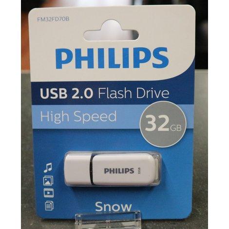Philips 32GB USB Stick   Nieuw