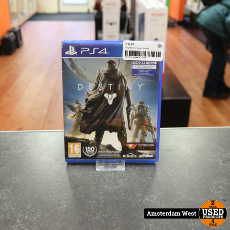 Playstation 4 Game: Destiny