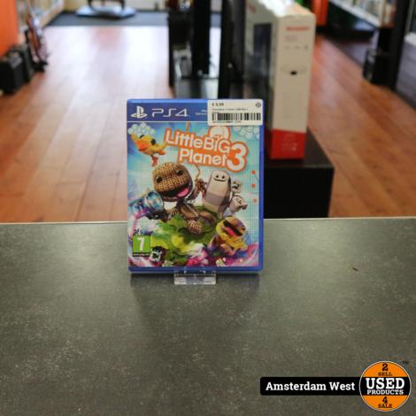 Playstation 4 Game: Little Big 3 Planet