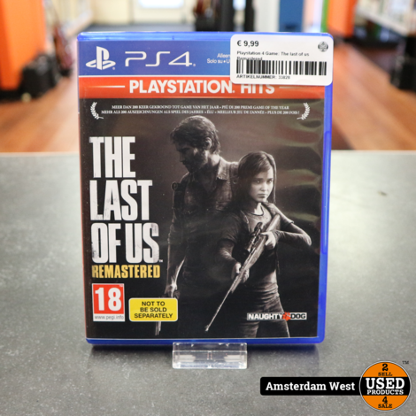 Playstation 4 Game: The Last of Us Remastered