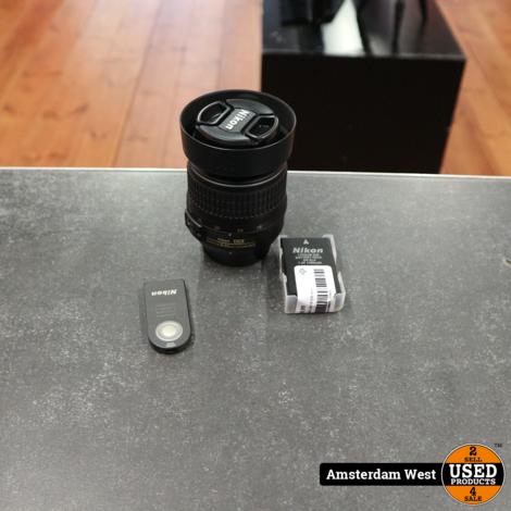 Nikon D40 met 18-135 lens