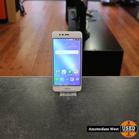 Asus Zenfone 3 Max 32GB Wit